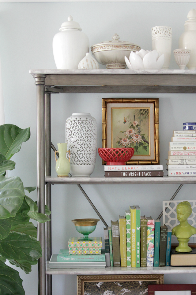 How To Style A Home Fit For A Family: How To Style A Bookshelf