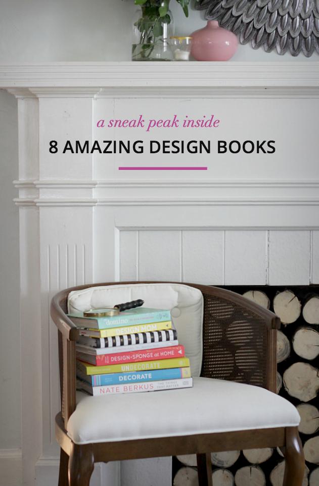 A sneak peak inside 8 of the best design books!