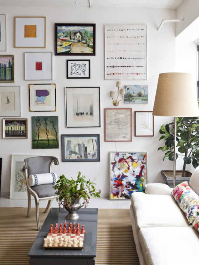 How to curate a gallery wall