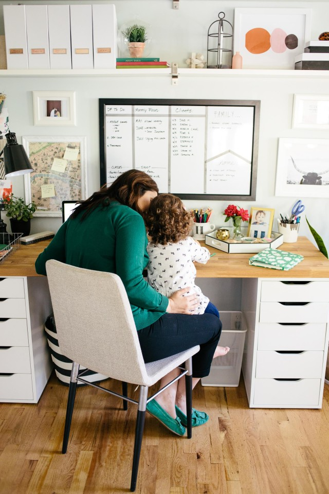 The truth about being a work from home mom | Heather Freeman of Decor Fix