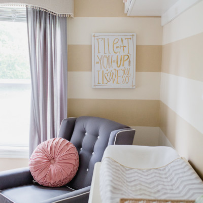 Darling Small Space Nursery