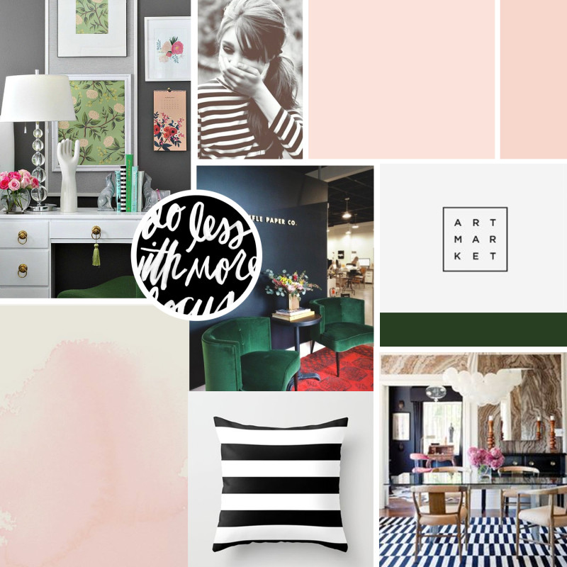 The Decor Fix brand board
