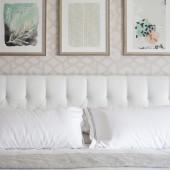 Serene master bedroom | The Decor Fix
