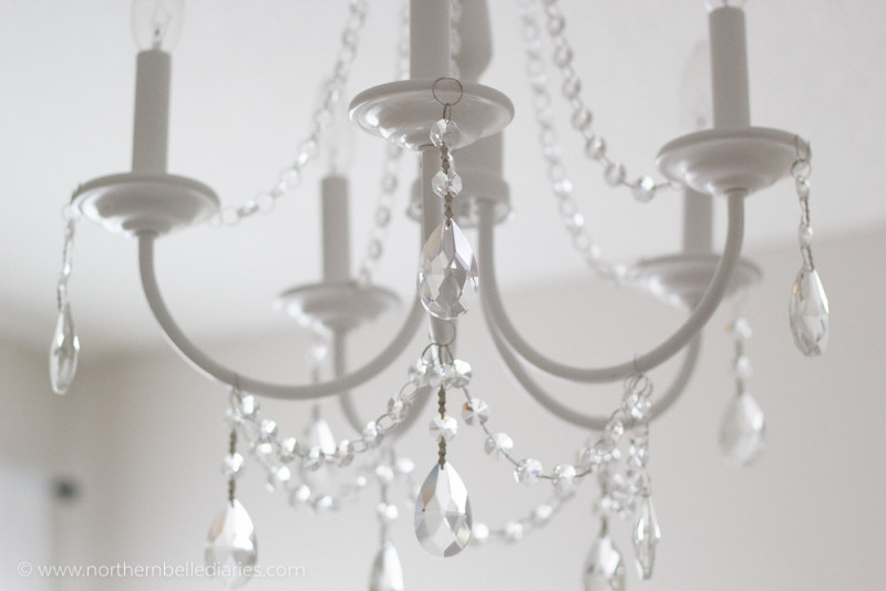Client project moody historic loft decor fix for Diy crystal chandelier lamp