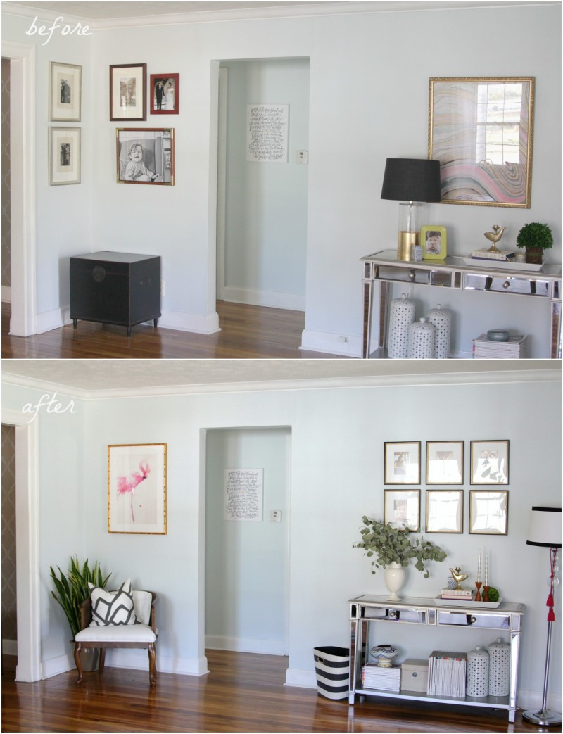 New art plan with Framebridge frames | The Decor Fix