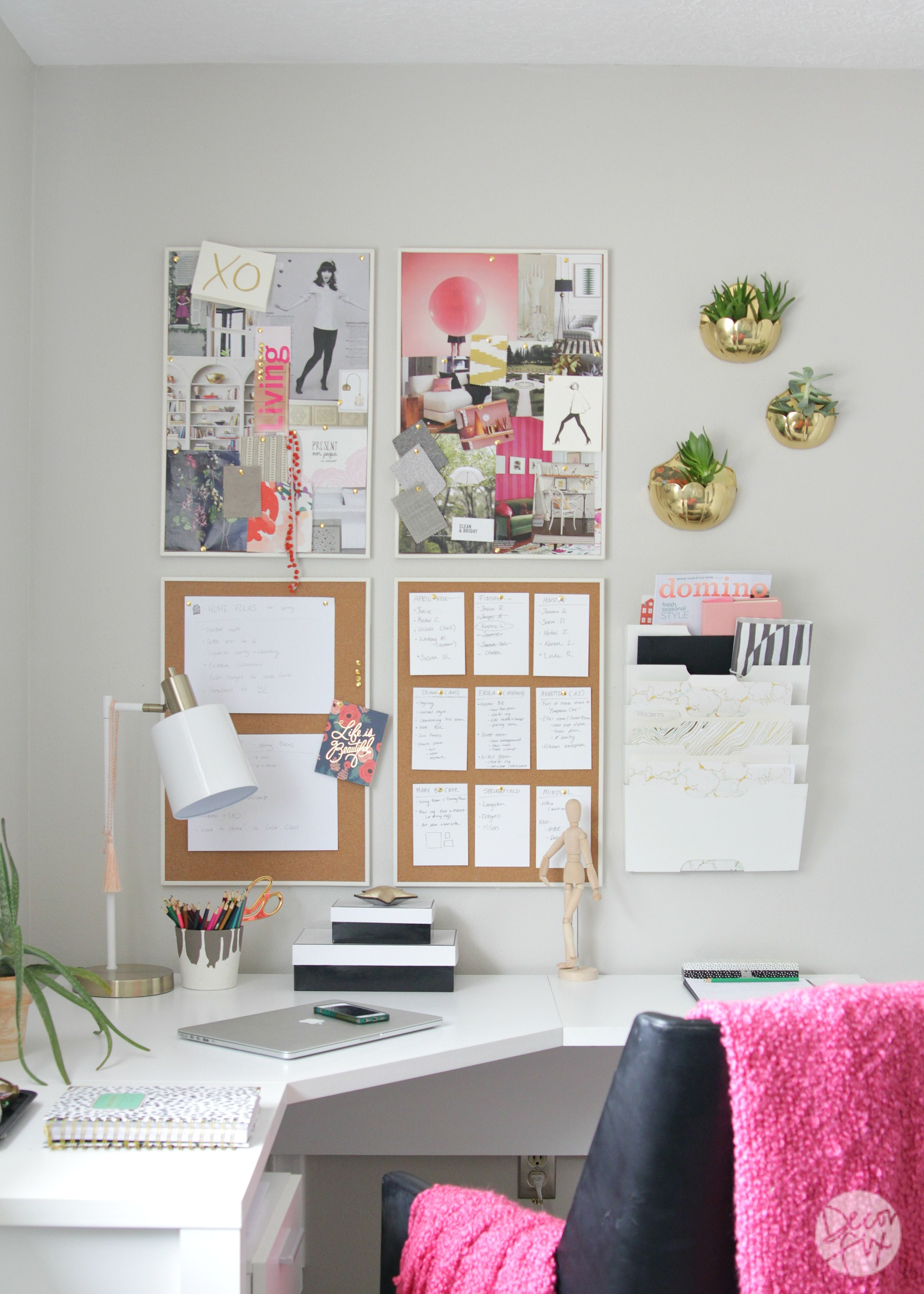 My Home Office Makeover - Decor Fix