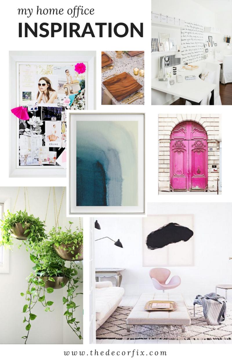 Home office inspiration & design plans | The Decor Fix
